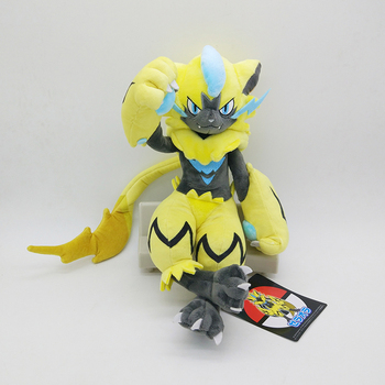 Pokemon Anime Games Pikachu series new 30CM Zeraora plush toy stuffed toys A birthday present for children