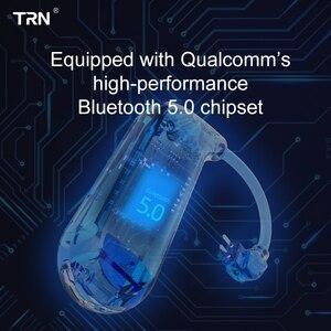 Image 5 - TRN BT20S AptX/AAC Apt X Bluetooth 5.0 หูฟัง MMCX/2Pin หูฟังบลูทูธอะแดปเตอร์สำหรับ SE535 KZZSN/ZS10/AS16 TRN X6 NICEHCK F3