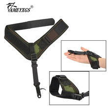 1pc Compound Bow Release Archery Calibrator Trigger Adjustable Buckle Strap Wrist Aid And Arrow Shooting Accessories