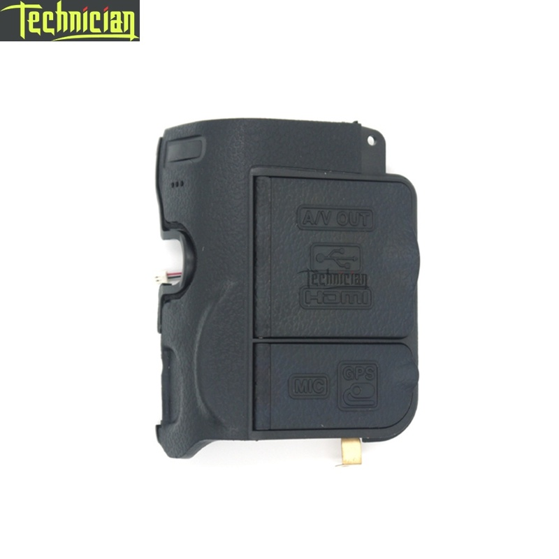 D7000 USB Cover With Rubber Camera Repair Parts For Nikon