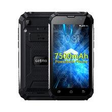 """Оригинальный geotel G1 7500 мАч Мощность Bank Мобильный телефон 5.0 """"FHD Andriod 7.0 MTK6580A Quad Core 2 ГБ Оперативная память 16 ГБ Встроенная память 3 г WCDMA 8MP Камера"""