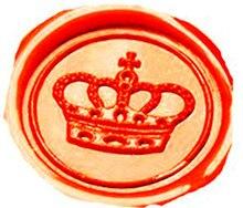 Vintage Imperial Crown Custom Picture Logo Wedding Invitation Wax Seal Sealing Stamp Sticks Spoon Gift Box Set Kit
