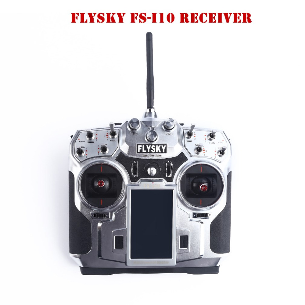 Flysky FS-i10 10CH 2.4GHz AFHDS 2 LCD Transmitter with Receiver Mode 1 Right Hand Throttle Mode 2 Left Hand Throttle