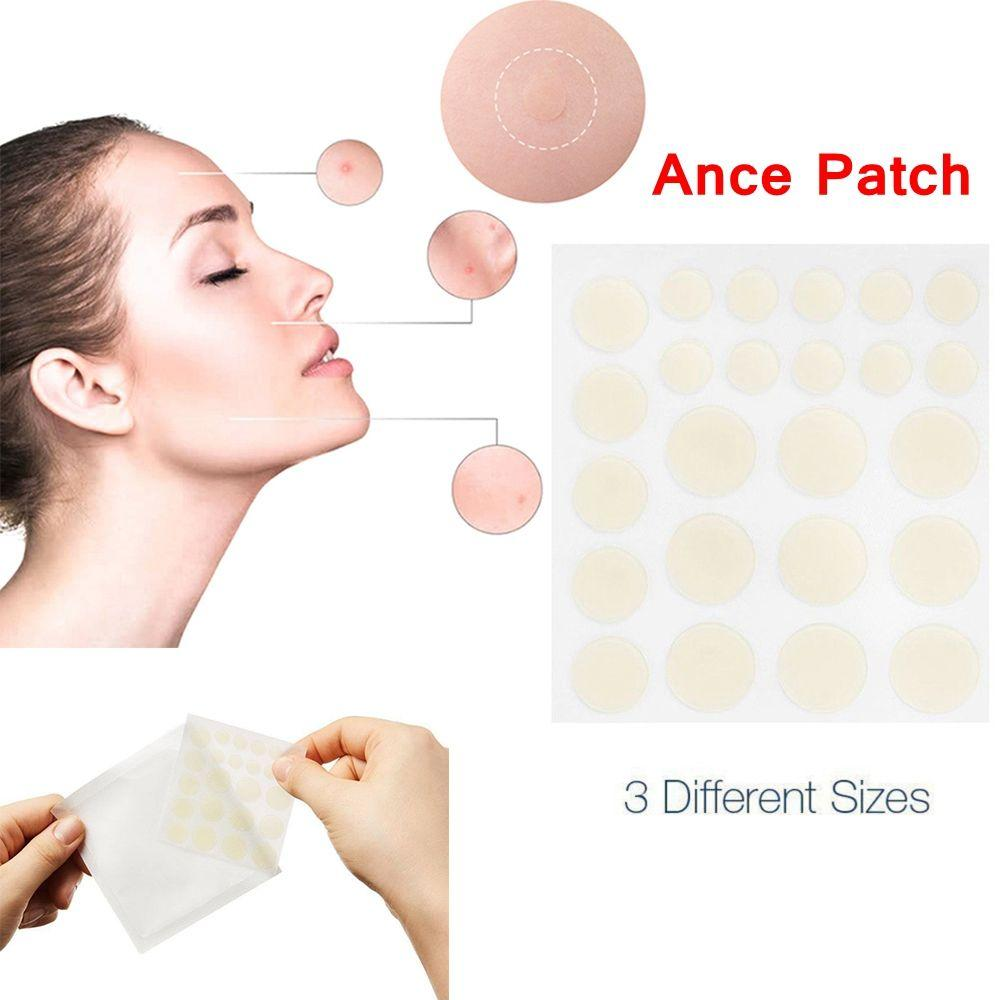 Pimple Repair Patches 30 PCS Invisible Acne Patch Concealing Pimple Stickers MIZON Collagen Power Firming Eye Cream 25ml (0.84 fl.oz.)