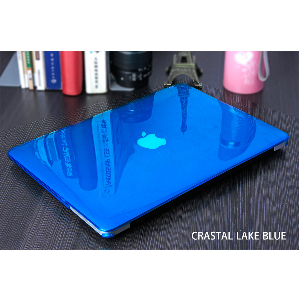 SYSTIMO Crystal case For Apple Macbook Air Pro Retina 11 13 15 with Touch Bar laptop bag for Macbook Air 13  Case