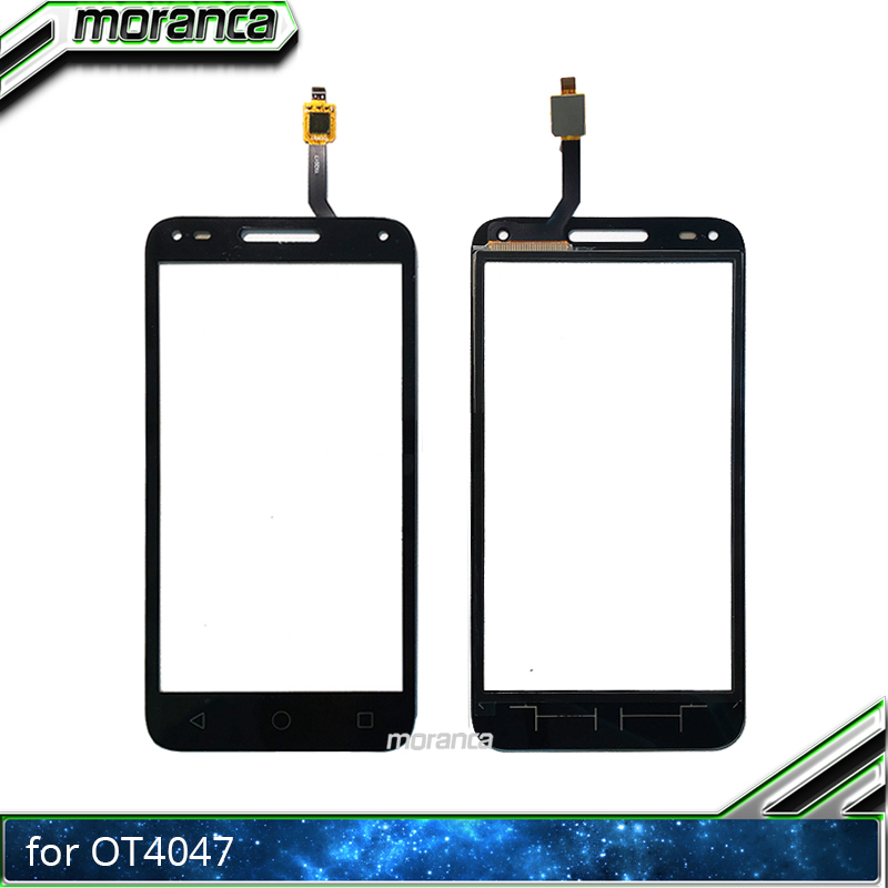 US $3 75 6% OFF|Touch Screen for Alcatel One Touch U5 3G 4047D 4047G 4047  OT4047 OT4047D Touch Digitizer Panel Front Glass Lens Sensor-in Mobile  Phone