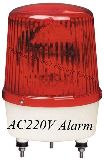 220В строительство сигналы Предупреждения сигнализация вращающихся маяк светофора полицейская сирена LTE-1161 индикатор