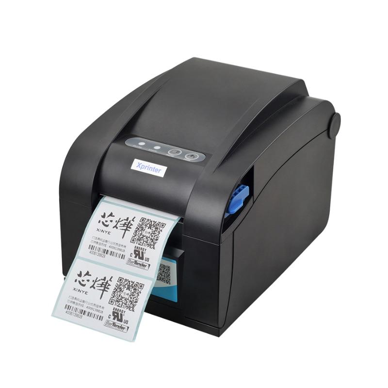 ФОТО XP-358BM label barcode printer thermal label printer 80mm thermal barcode printer 80mm POS receipt printer with ethernet port