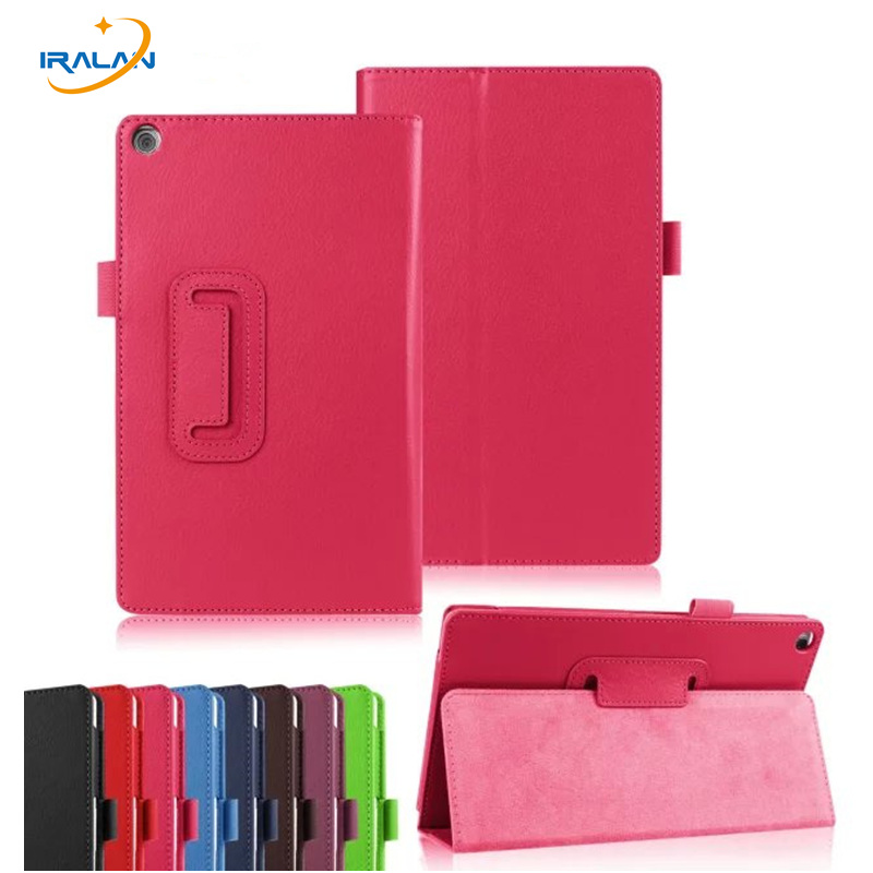 2017 New Litchi PU Leather Case Stand Slim Cover for Asus Zenpad 8 0 Z380 Z380C