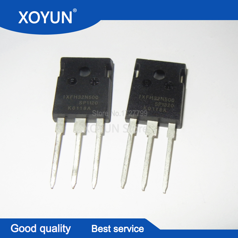10PCS  IXFH32N50Q TO 247 500V 32A-in Integrated Circuits from Electronic Components & Supplies