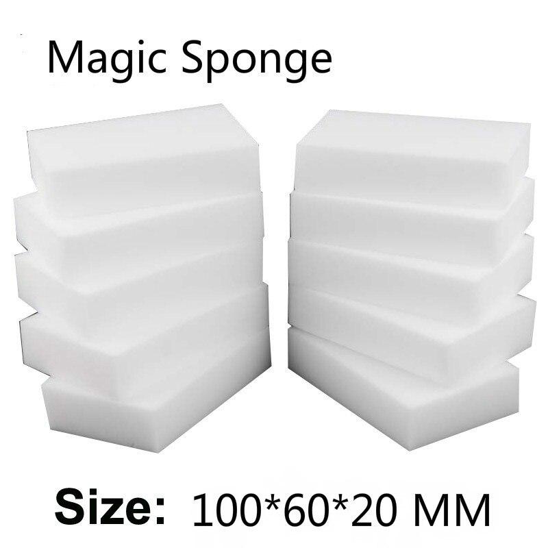 Éponge magique Gomme Cuisine lingettes duster Maison Propre Accessoire/Microfibre Plat De Nettoyage Mélamine éponge nano en gros 10*6*2 cm