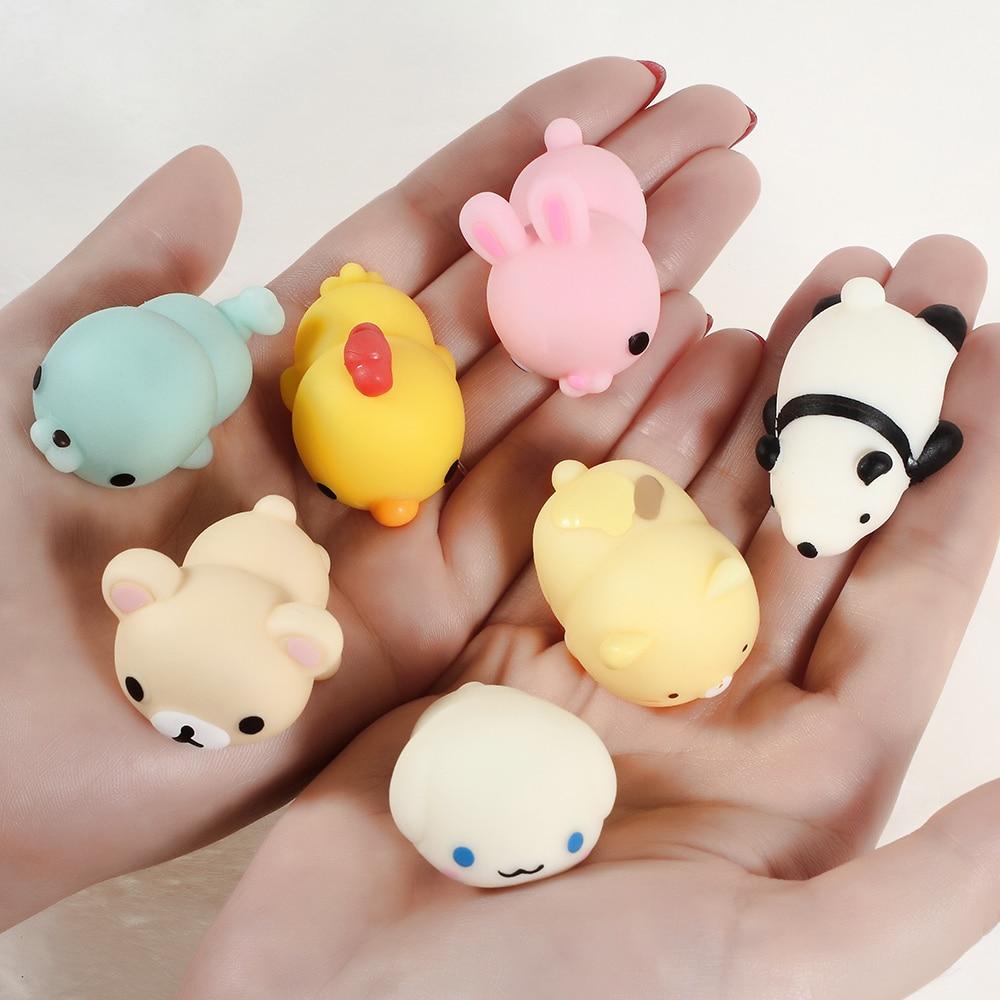 Perfumado Squishy Juguetes Animal de la Historieta Suave de Silicona - Nuevos juguetes y juegos - foto 4