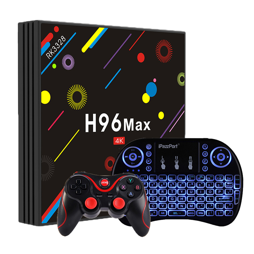 H96 MAX H1 Android 7.1 TV Box update version to H96 Max H2 Smart TV Box 4G 32G 2.4G 5G Wifi SetTop Box Media Player PK T95Z Plug high quality rk3328 android 8 1 tv box h96 max plus smart media player quadcore 4g 32g 4g 64g option 4k tv box h96 max h2 h1