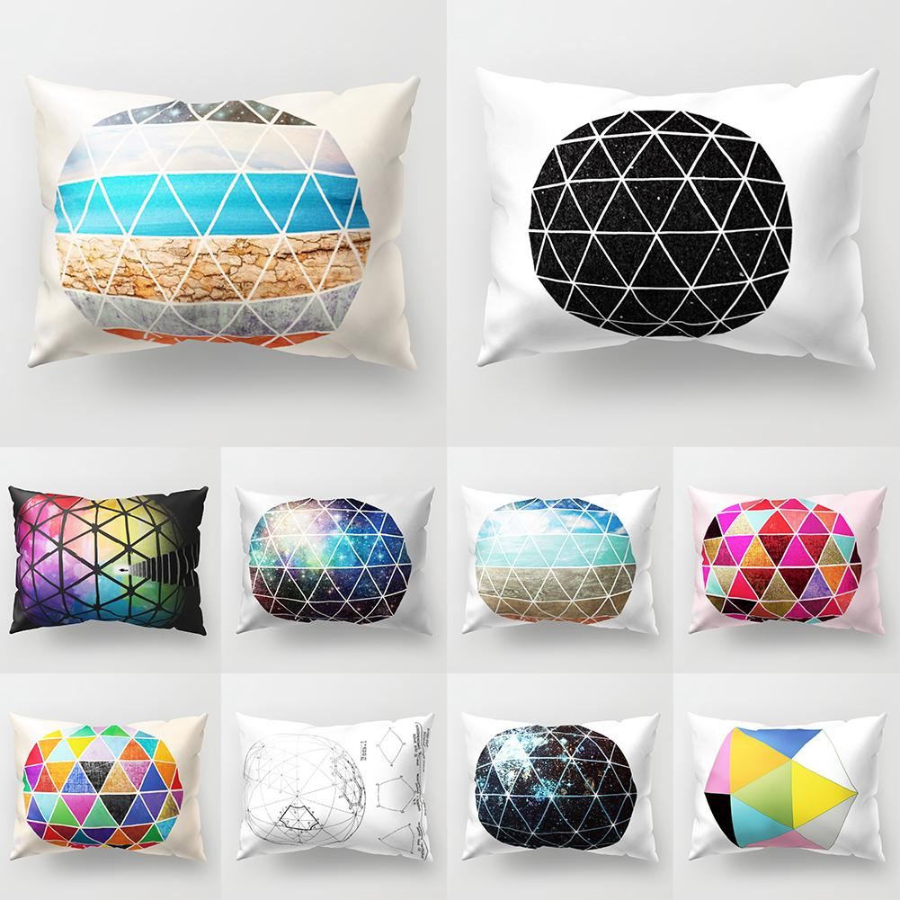 Cushion Covers For Sofa <font><b>30x50</b></font> Concise Style Various Color Throw <font><b>Pillow</b></font> <font><b>Case</b></font> Bed Home Decoration Cushion Cover image