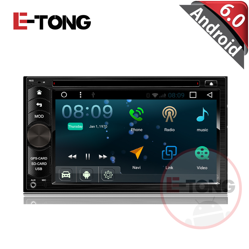 6 2 android 6 0 2din universal car radio autoradio gps double din dvd car stereo in dash. Black Bedroom Furniture Sets. Home Design Ideas