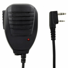 Оригинальный Портативный PTT ручной динамик двухстороннее радио динамик и микрофон для ходьбы рации Baofeng UV 5R 5RA 5RE 5R плюс Новый