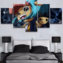 New 5 Piece Canvas Art One Anime Poster Cuadros Decoracion Paintings on Wall for Home Decorations Decor