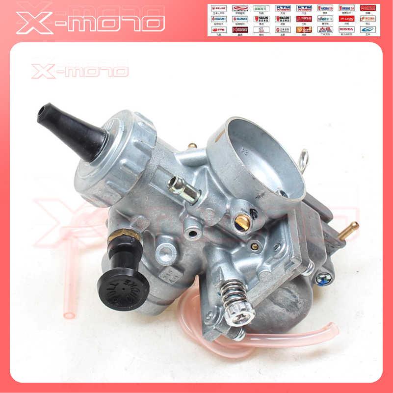 """Mikuni קרבורטור VM24 28 מ""""מ עבור 150cc 160cc 200cc 250cc מנוע CRF KLX TTR בור אופנוע"""