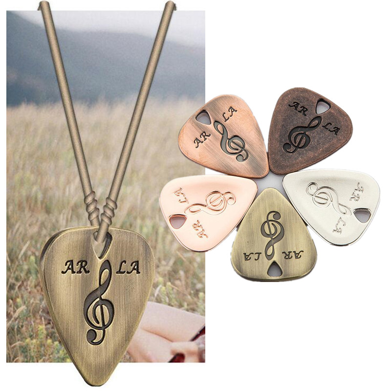 Metal Stainless Steel Guitar Picks Pick Encyst Thickness Bass rotosound rs66lc bass strings stainless steel