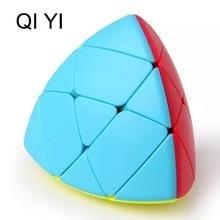QiYi MASTERMORPHIX Kouzelná kostka soutěže Rychlost Puzzle Kostky Hračky pro děti Děti cubo magico Rýžová knedlíková kostka