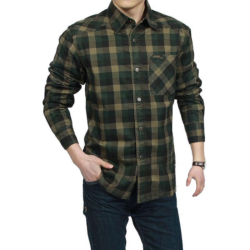 Compare Prices on Green Plaid Shirt- Online Shopping/Buy Low Price ...