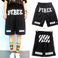 2016 Casual Pyrex Shorts Men Short Pants knee length pockets Male  Clothing Short Black Bermuda Homme