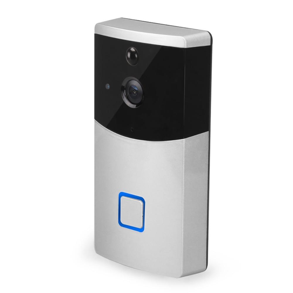New Remote WIFI Low Power Visual Electronic Doorbell Smart Phone Video Intercom Surveillance Camera
