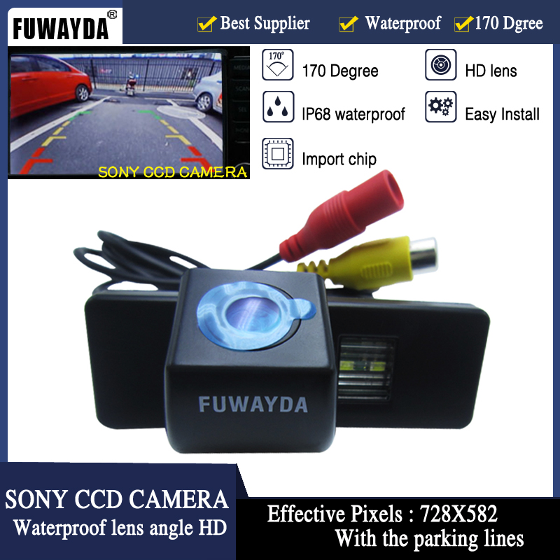 FUWAYDA SONY CCD Chip Car Rear View Reverse font b CAMERA b font for Citroen C4