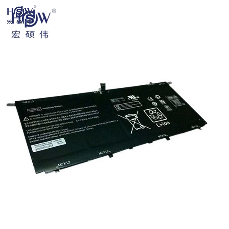 HSW Notebook Battery for HP Spectre 13-3000 13t-3000 TPN-F111 Series RG04XL HSTNN-LB5Q TPN-F111 734746-421 HSTNN-LB50 734998-001