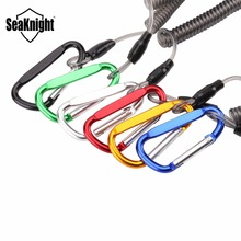 SeaKnight Multicolor Retention Ropes Max 6PCS 315mm Secure Lock Flexible Fishing Rope Clamp Gripper Boating String Fishing Tool