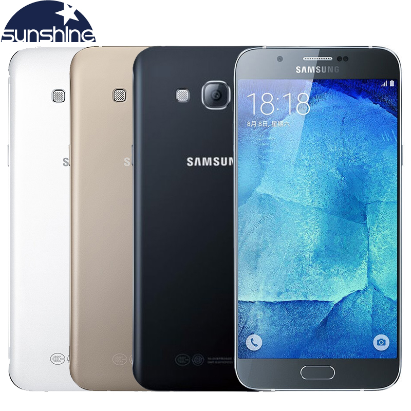 Original Samsung Galaxy A8 A8000 4G Mobile phone 5 7 16 0MP RAM 2G Octa Core