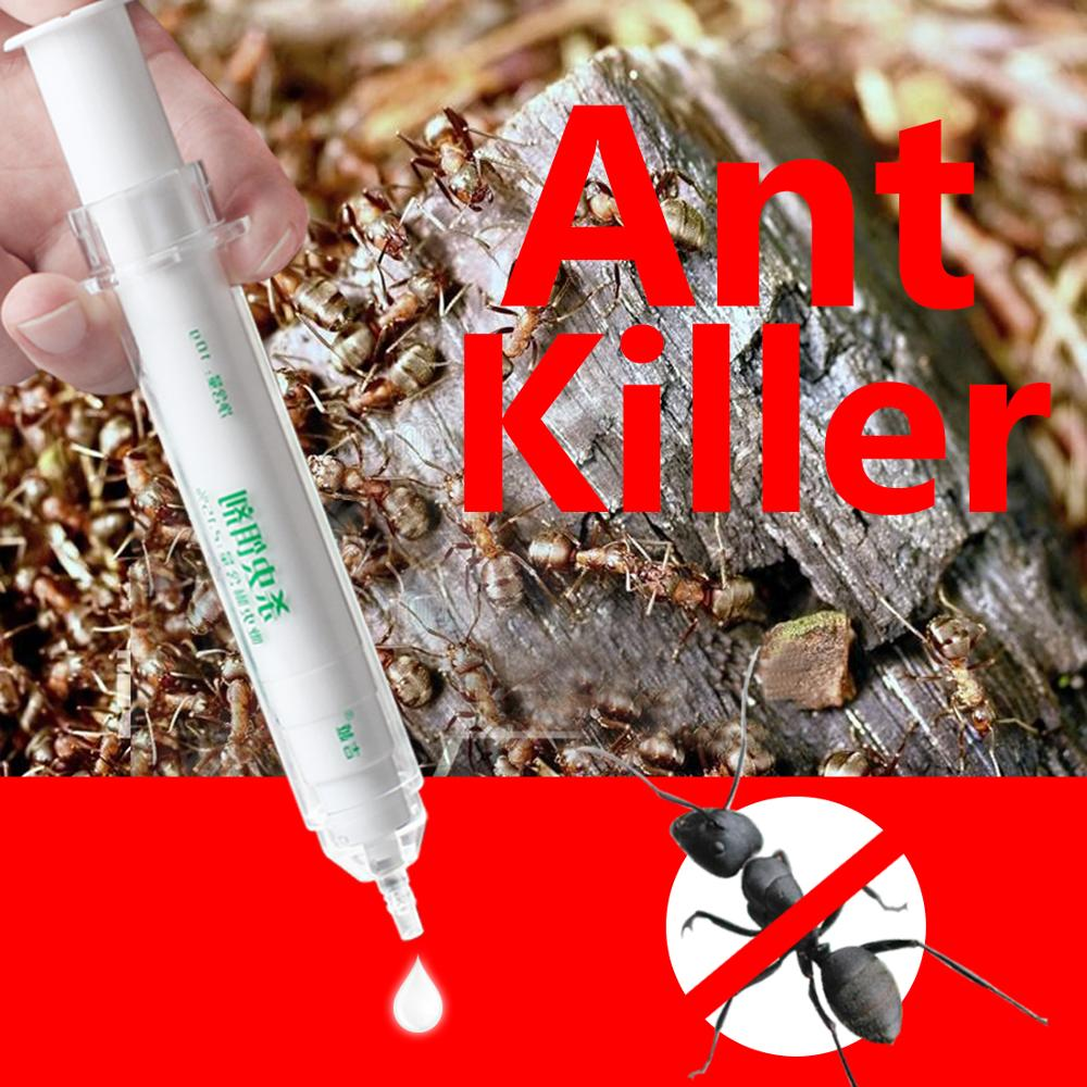 Killing Back Yellow Liquid Ants Killer Medicine Gel Lure Bait Trap Non-toxic Poison Effects Insecticide Green Pest Control