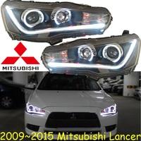 Mitsubish Lancer Headlight 2008 2015 Fit For LHD RHD Free Ship Lancer Fog Light 2ps Se