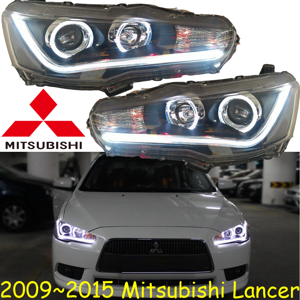 Mitsubish Lancer headlight,2008~2015 (Fit for LHD&RHD),Free ship! Lancer fog light,2ps/se+2pcs Ballast,ASX,Lancer EX roewe headlight 550 2009 2013 fit for lhd and rhd free ship roewe fog light 2ps set 2pcs aozoom ballast roewe 550