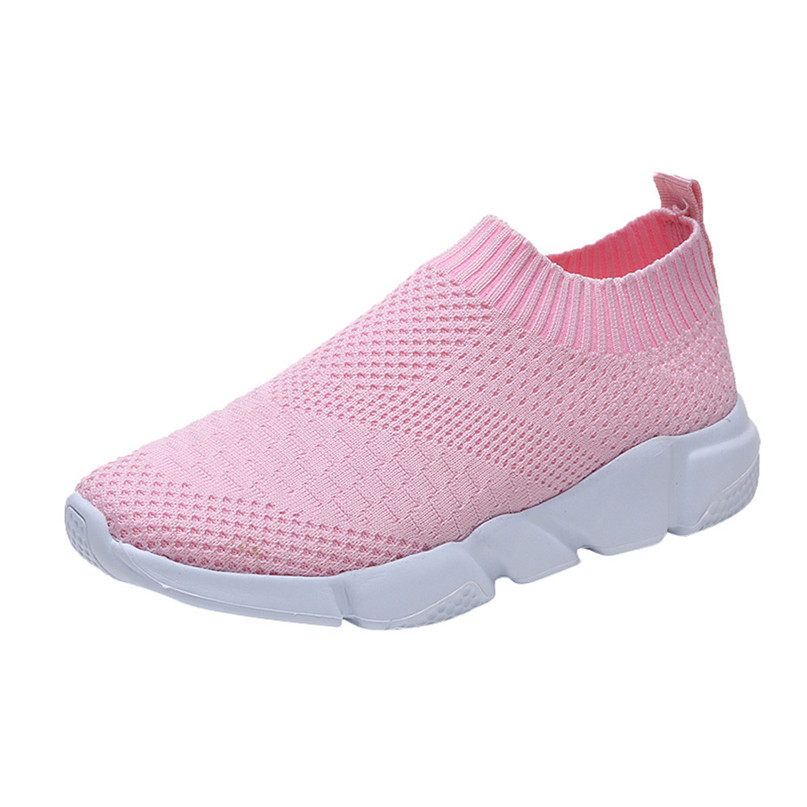 2018 New Outdoors adults trainers Running Shoes woman sock footwear sport athletic unisex breathable Mesh female Sneakers #2a (3)