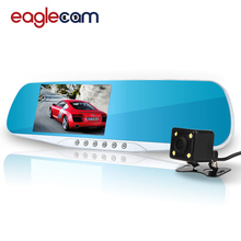 Hot Sale Car Camera Mirror Car Dvr Blue Review Mirror Digital Video Recorder Auto Registrator Night Vision FHD DVR