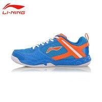 Li Ning Men S Wear Resisting Badminton Training Shoes Li Ning Shoes Anti Slippery Damping Lace