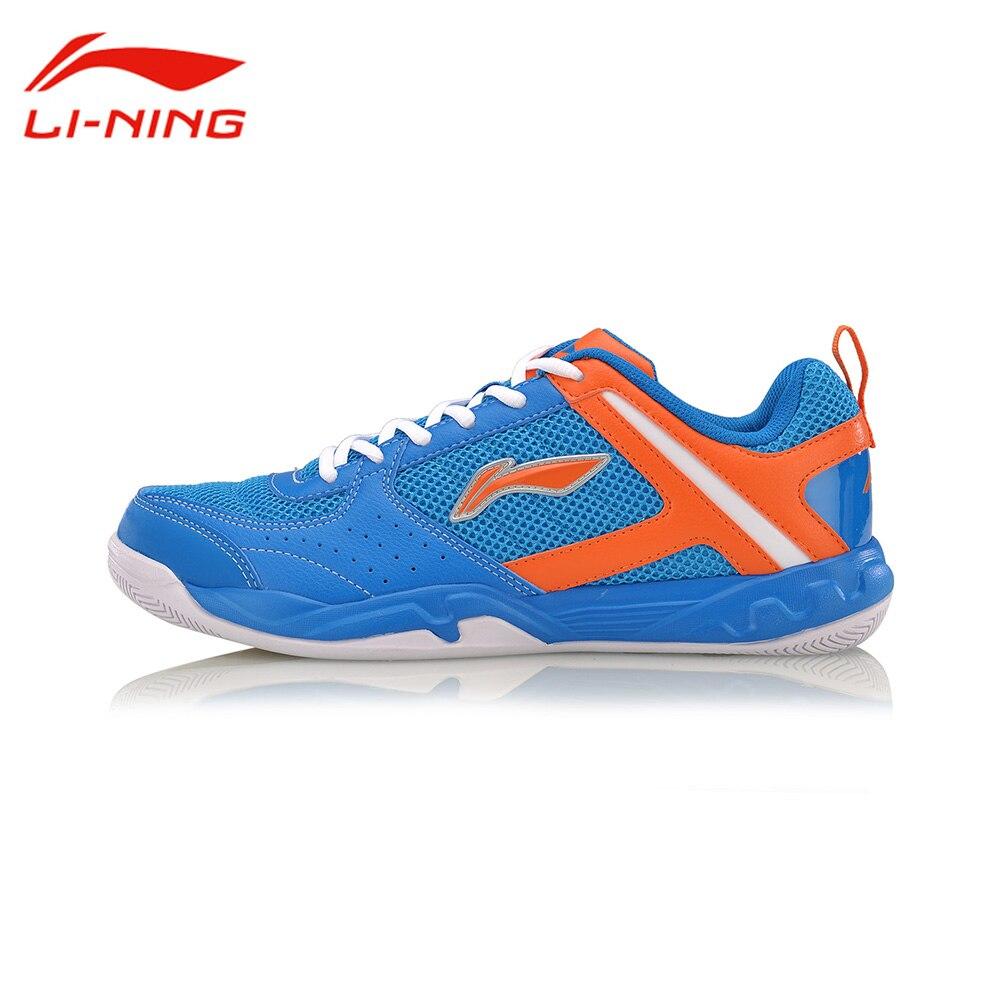 Chaussures d'entraînement de Badminton li-ning pour hommes résistant à l'usure chaussures de sport antidérapantes à lacets chaussures de sport en plein air AYTM017