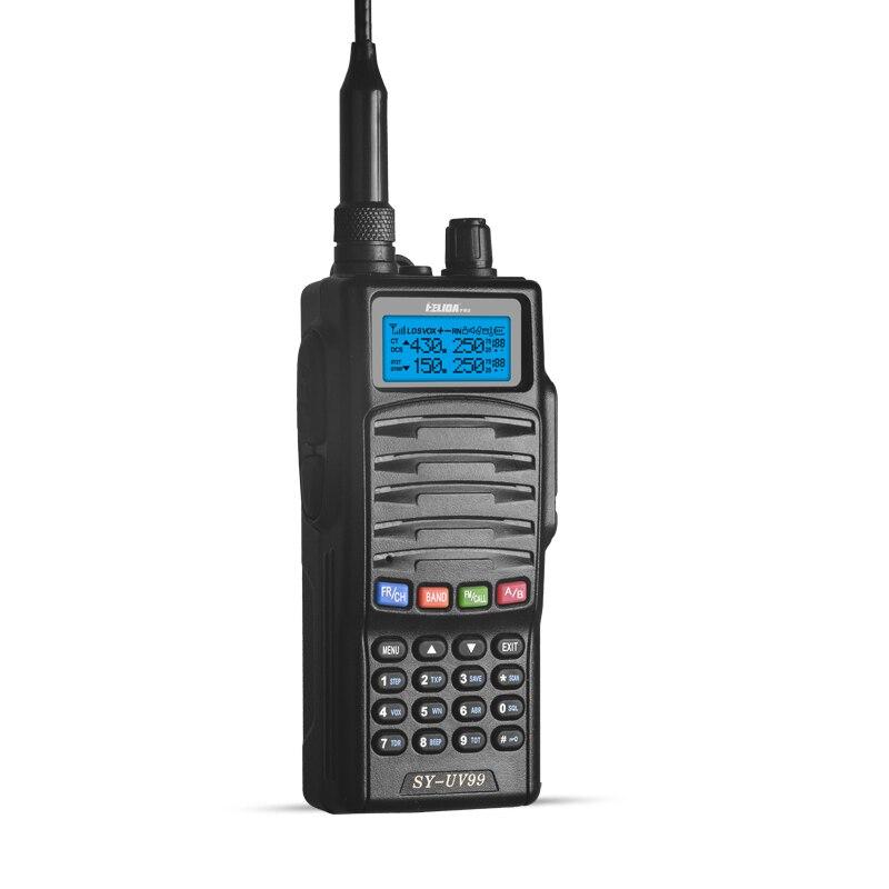 HELIDA Main Générateurs Talkie Walkie 5 w SY-UV99 Two Way Radio VHF/UHF Bande 136-174/400-520 mhz