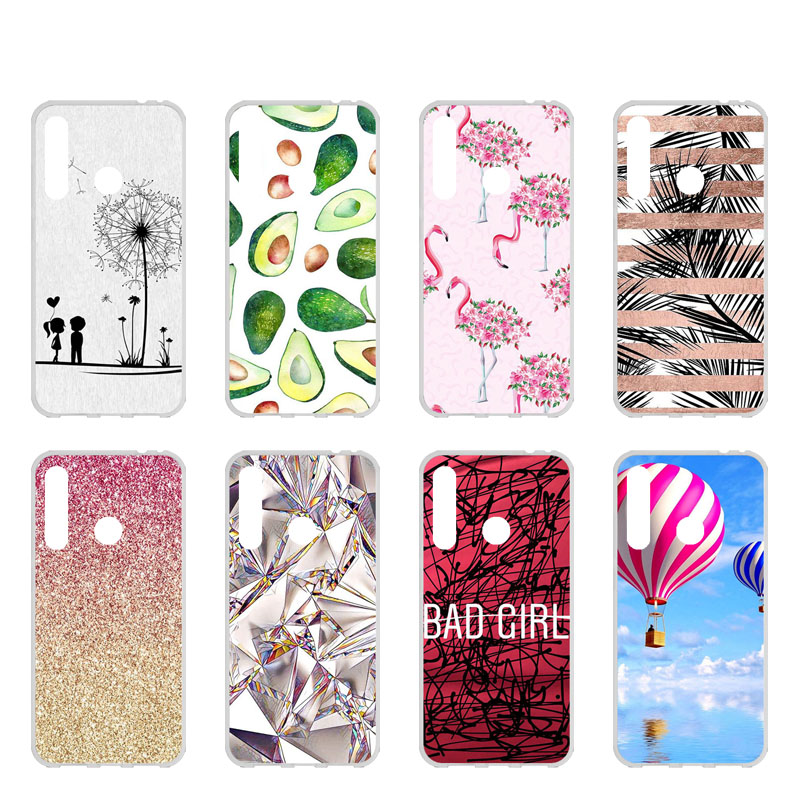 TAOYUNXI Soft TPU Case For Huawei Honor 10i Cases For Huawei Honor 10i HRY-LX1T 6.21 Inch Flexible DIY Painted Protective Covers