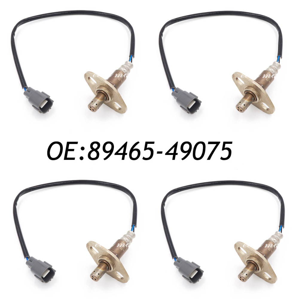 New 4PCS O2 Air Fuel Ratio Sensor For Toyota Highlander Lexus RX300 89465-49075 234-4215 high performance new air flow meter map sensor for toyota 1jzgte jzx100 supra ls400 22250 50060 2225050060 197400 0050