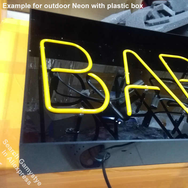 Detail Feedback Questions about Custom Neon Signs Any LOGO Neon Light Sign  for Home Beer Bar Pub Game Room Restaurant Real Glass Tube Custom Brand  Design ... f99a16cda2321