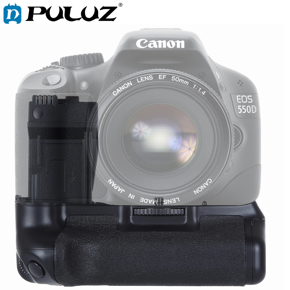 PULUZ Vertical Camera Battery Grip for Canon EOS 550D / 600D / 650D / <font><b>700D</b></font> image