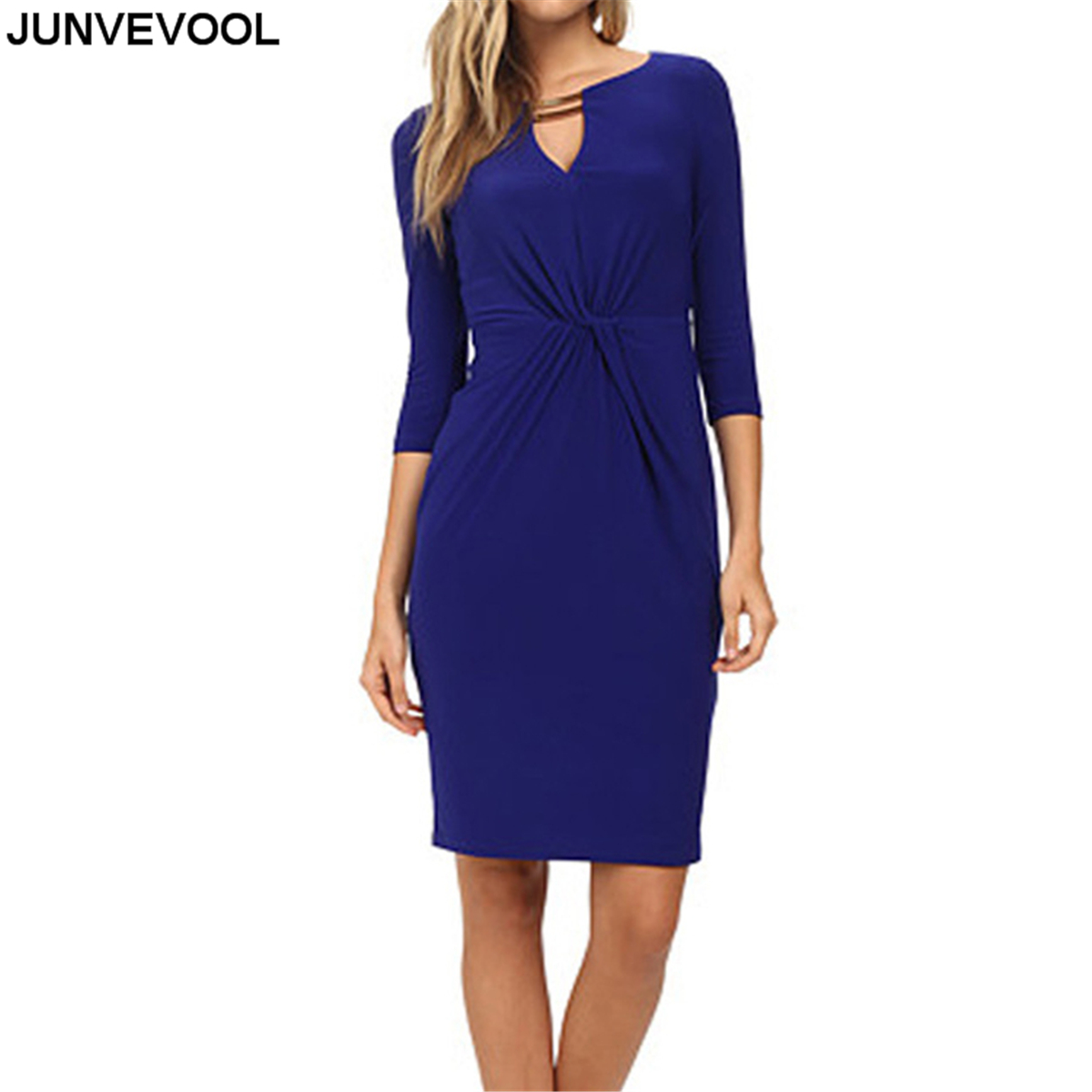 Office Dress Women Summer Casual Elegant Clothing Female