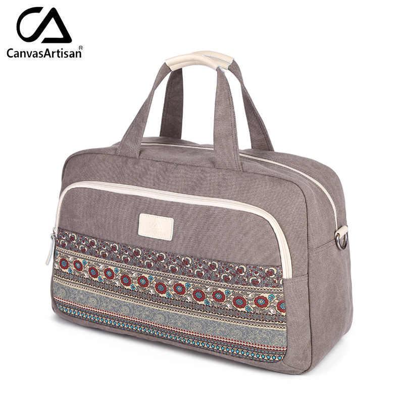Брезентовые женские дорожные сумки лучшие для багажа спортивные большие