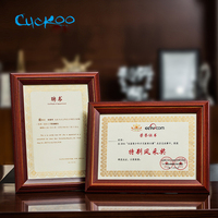 Cuckoo Classic minimalist 210*297mm A4 poster frame for wall hanging wooden photo frame certificate authorization multi function