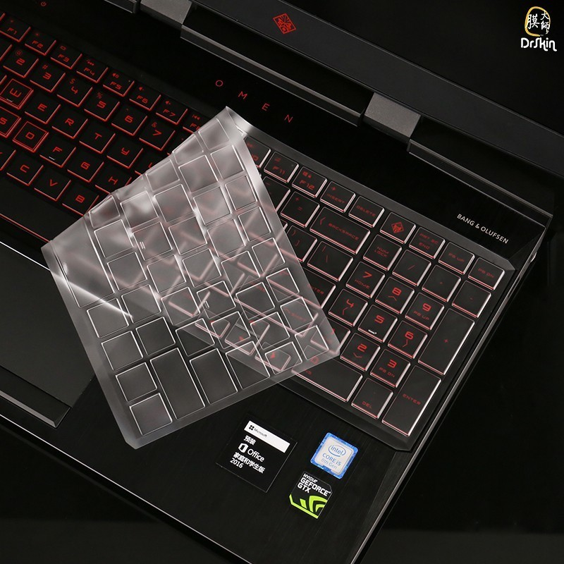 TPU Keyboard cover For HP Shadow Elf 4 laptop keyboard Transparent invisible protection film for HP OMEN 15--DC0004TX membrane