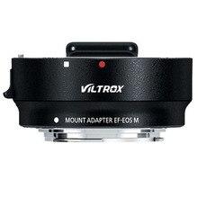 Viltrox Autofocus EF EOS M Lens Mount Adapter Ingebouwde Anti Schudden Functie Voor Canon Ef EF S Lens canon Eos Camera