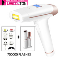 Depilator a Laser Hair Removal Epilator 300000+100000pulse Light Adjustable Energy 5 Gear With LCD Display Hair Removal