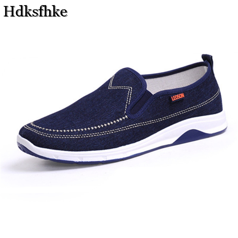 2017 New Shoes Men Casual Male Black Bule Summer spring autumn slip-on Flats Fashion Shoes Men Canvas Shoes Sales footwear enmayer spring autumn white red black spring summer autumn fashion new men s women casual shoes flats shoes free shipping